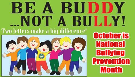 October awareness bullying
